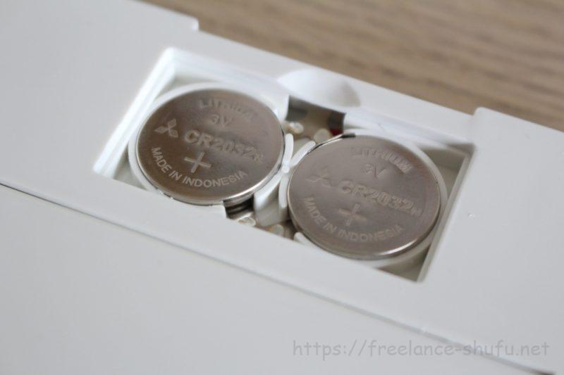 3面鏡コンパクトミラー 電池