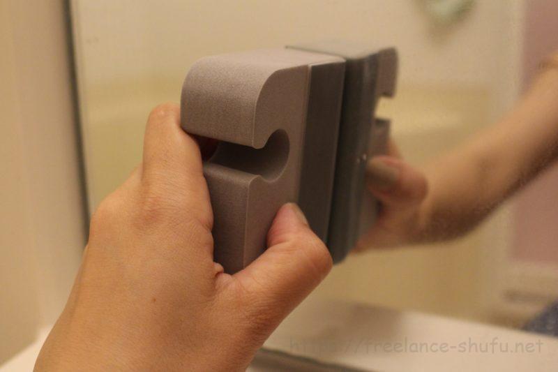 すごい鏡磨きストロング 磨く